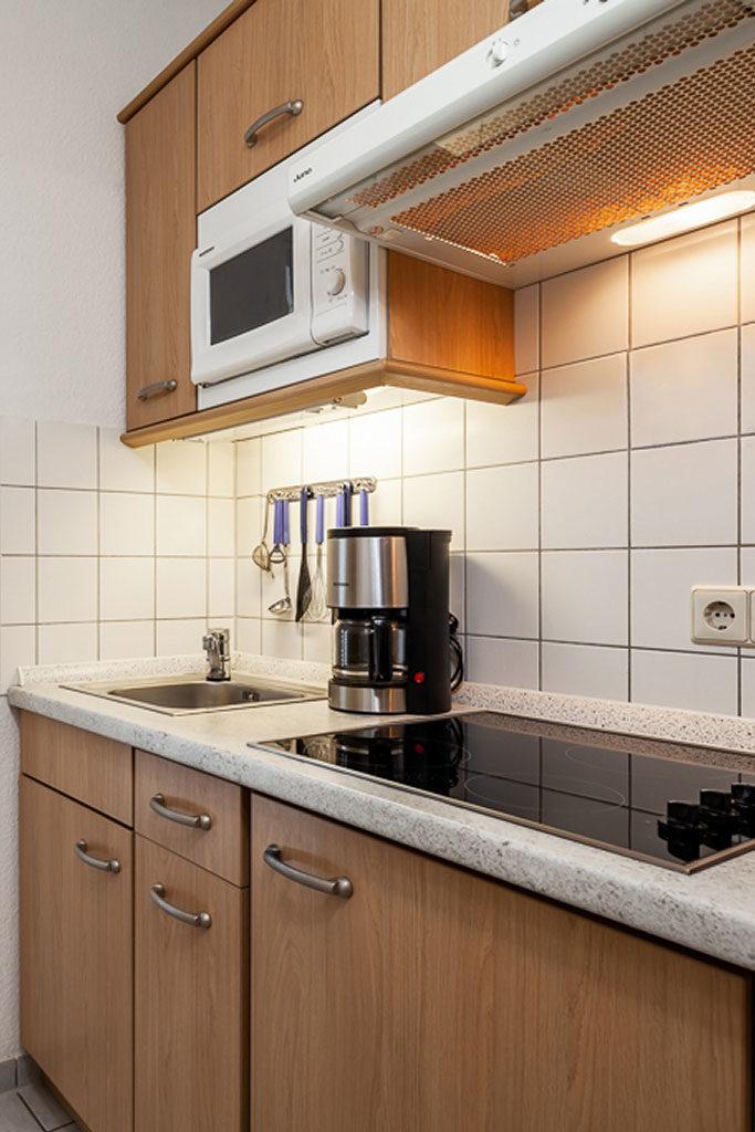 Ferienwohnung Strandgut - Detail Küche