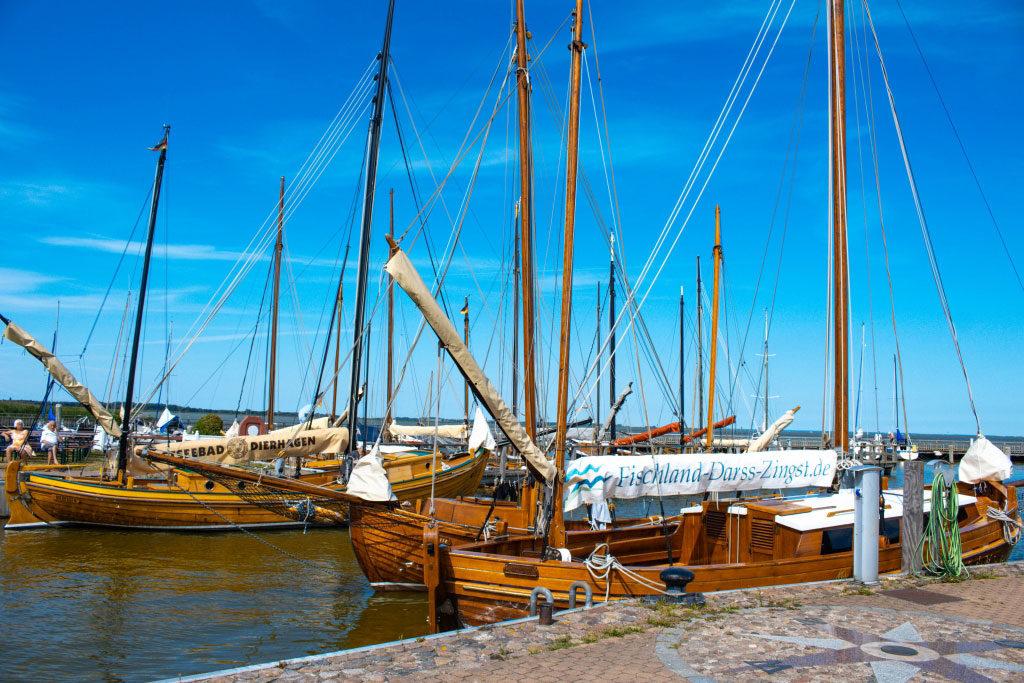 Hafenansicht - Ostseebad Dierhagen