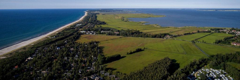 Luftbild Halbinsel Fischland-Darss-Zingst