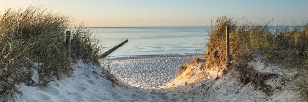 Ostsee Dierhagen Strandzugang